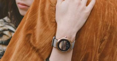 Marc Jacobs Riley Touchscreen Smartwatch