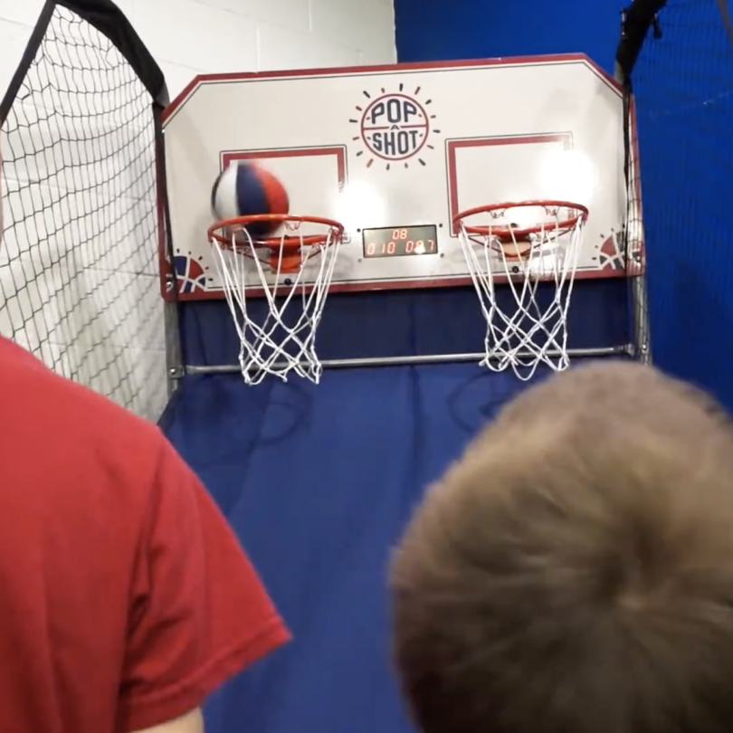 Pop-A-Shot Dual Shot Basketball Arcade Game