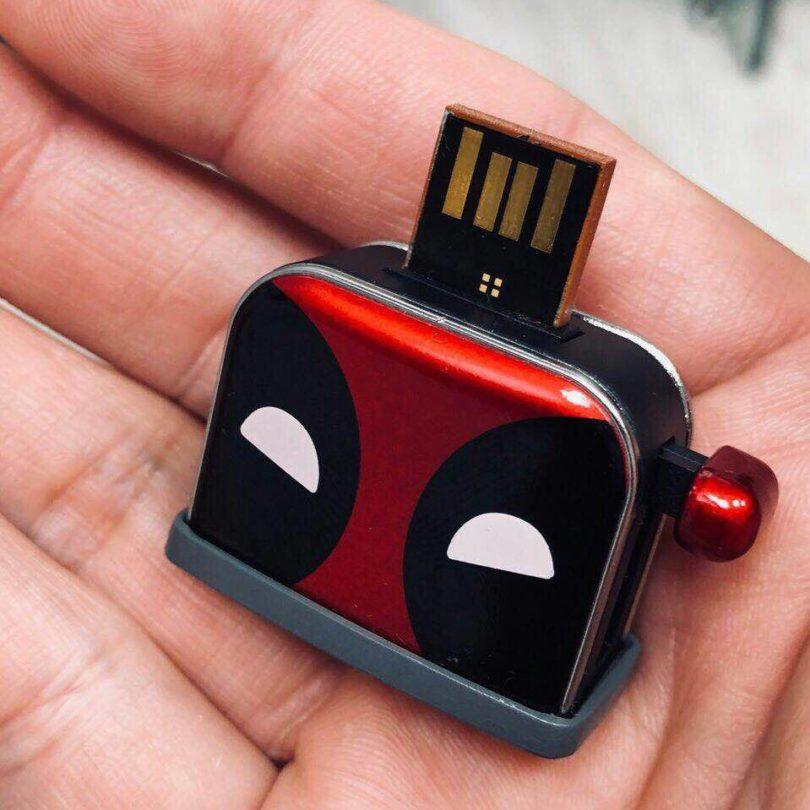 Deadpool Toaster USB Flash Drive