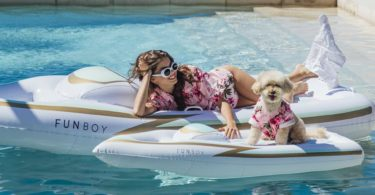 Holy Ship Dog & Human Float Set