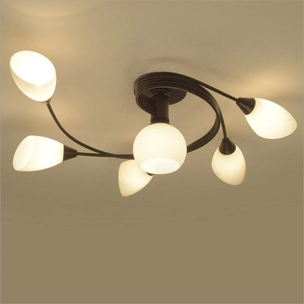 Joypeach Rustic Style LED Flush Mount Ceiling Lights