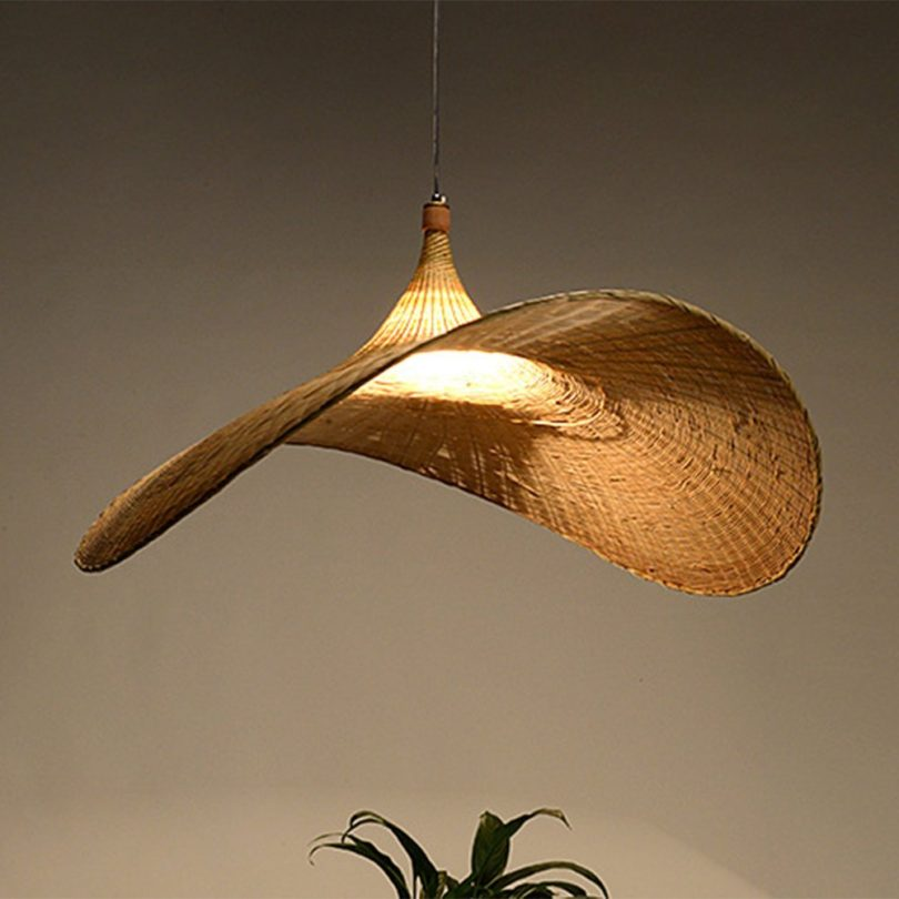Chandelier Pendant Light Modern Pure Hand Weaving Art