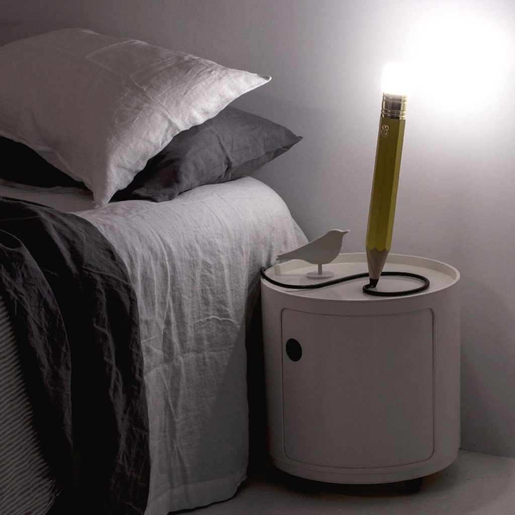 Pencil Lamp Mini by Michael & George