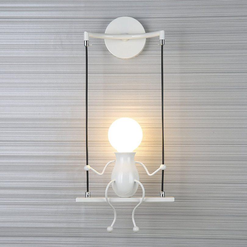 SOUTHPO LED Wall Light Fixtures Indoor Creative Cartoon