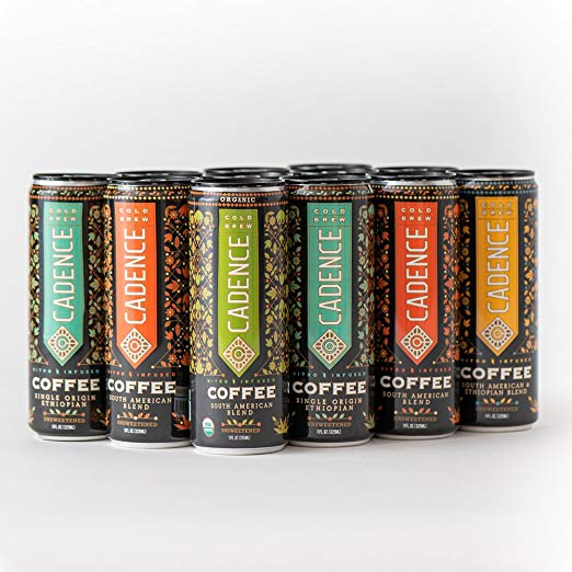 Cadence Cold Brew Nitro-Infused Variety Pack