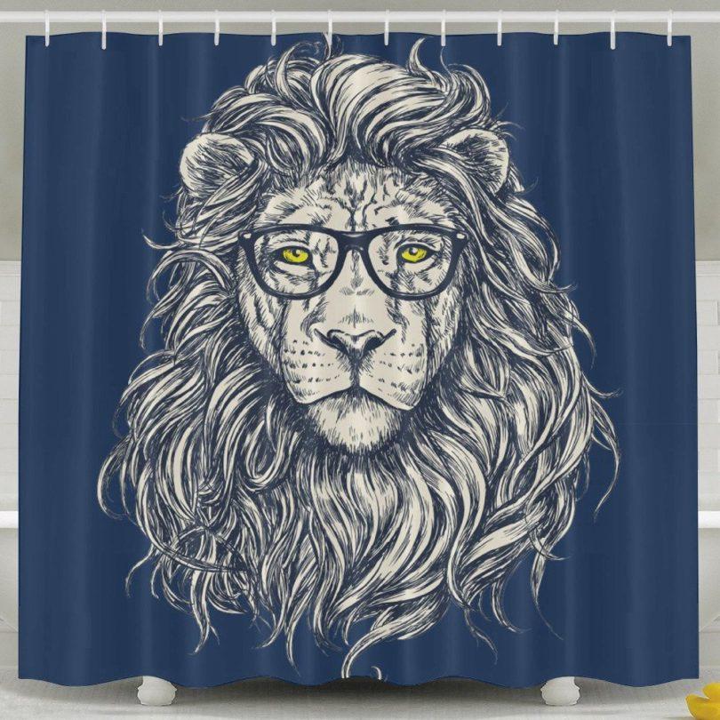 Bath Curtain 60 X 72 Inch Waterproof Petagadget