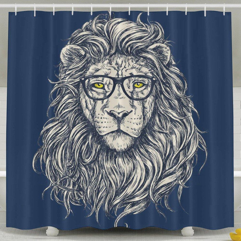 Bath Curtain 60 X 72-Inch Waterproof