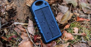 EFOSHM Power bank, Solar Charger