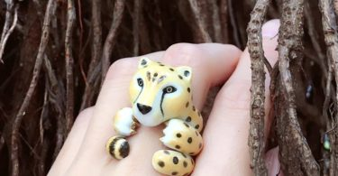 Mary Lou Cheetah Ring
