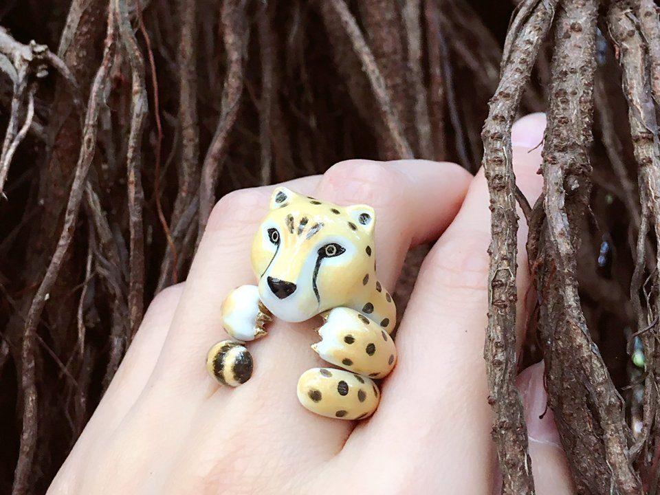 Mary Lou Cheetah Ring