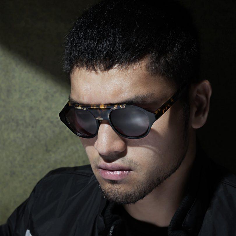 Sheriff Black Sunglasses