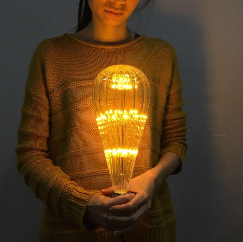 Mega Edison Firework Light Bulb