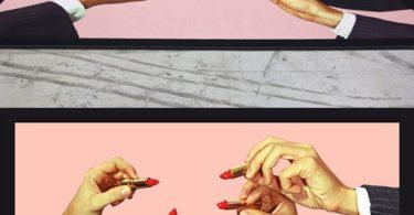 Seletti Rectangular Lipstick Rug