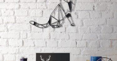 Cat Metal Wall Decor