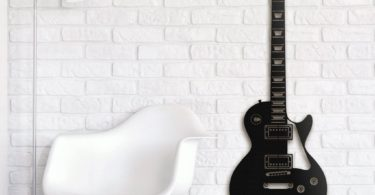 Les Paul Guitar Metal Wall Art