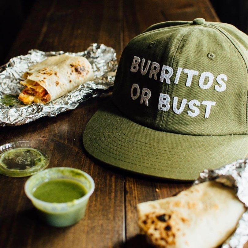 Burritos or Bust Strapback Hat