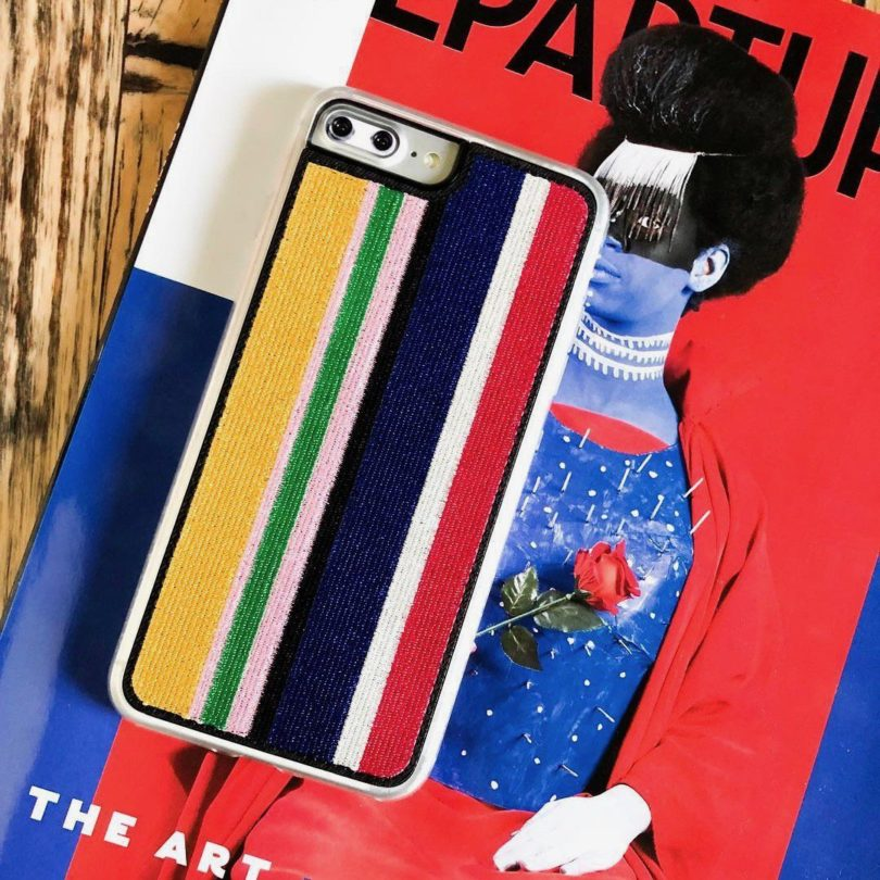 Runway Embroidered iPhone 7/8 PLUS Case
