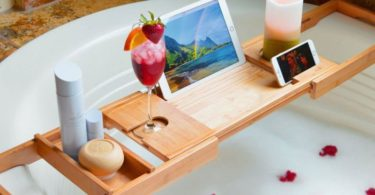 Adjustable Multifunctional Bathtub Caddy
