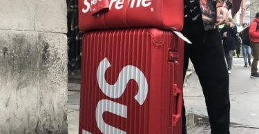 Supreme RIMOWA Topas Multiwheel 82L Suitcase