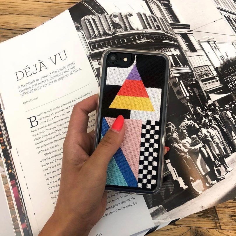 Memphis Embroidered iPhone 7/8 Case