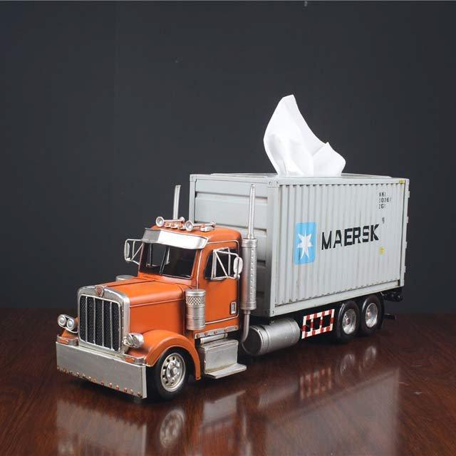 Transformers Optimus Prime Cargo Truck Tissue Box