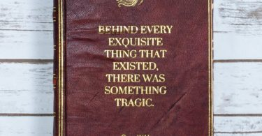 Vintage Oscar Wilde Dorian Gray Handmade Leather Journal