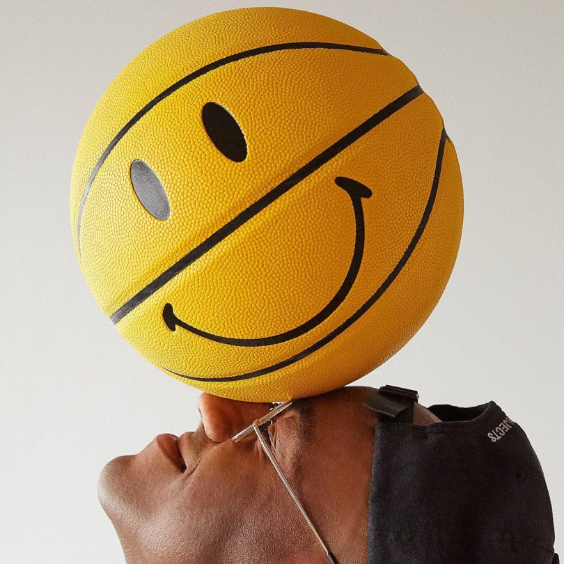 Smiley Basketball by Chinatown Market