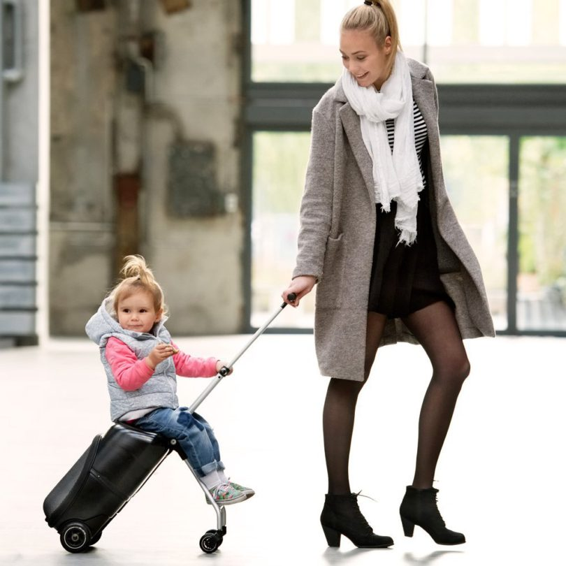 Lazy Luggage Suitcase Stroller