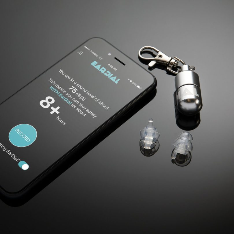 EarDial Invisible Smart Earplugs for Live Music