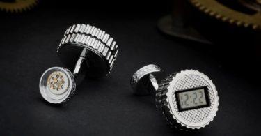 Digital Watch Cufflinks