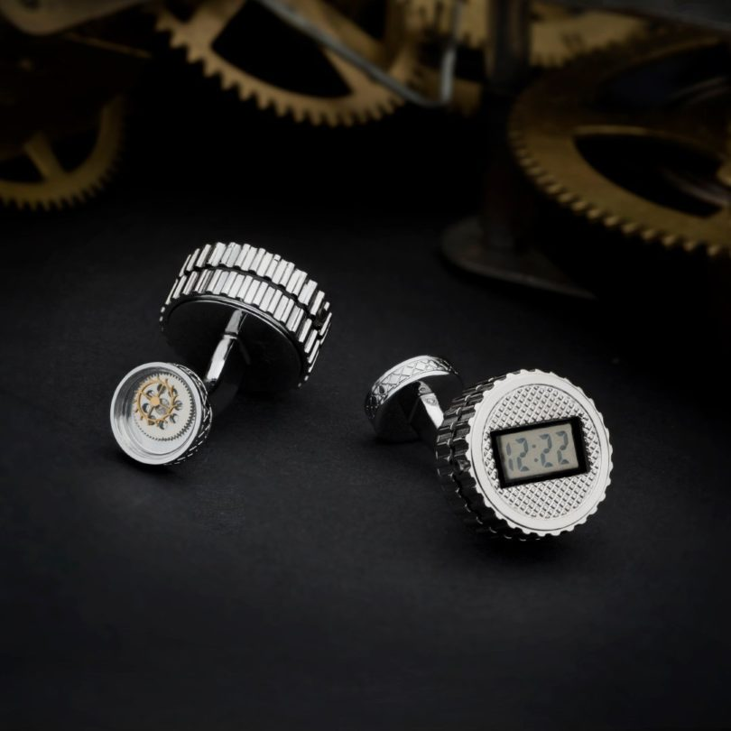 Digital Watch Cufflinks
