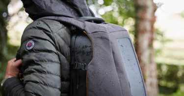 Numi Smart Solar Backpack