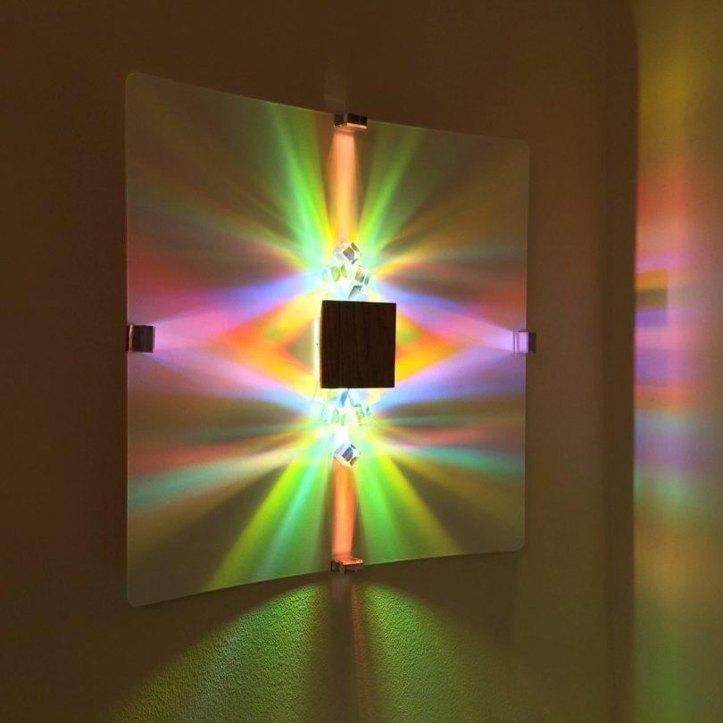 Source of Color Wall Light