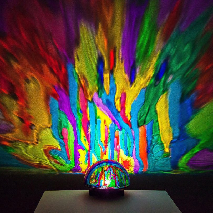 Light Painting Projector Lamp
