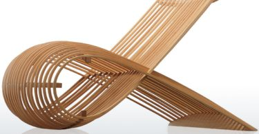 Wood Chair by Marc Newson