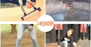 Electric Skateboard by I-Wonder