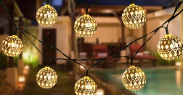 Solar Garden String Light Balls