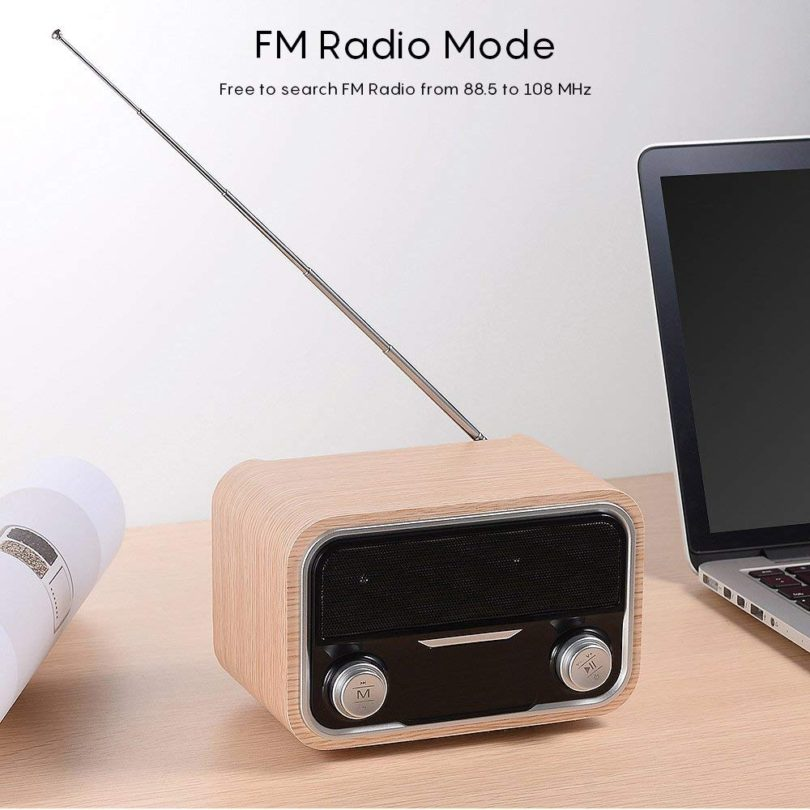 Bluetooth Soundbar, 16 Inch Wireless BT 4.2 Speaker