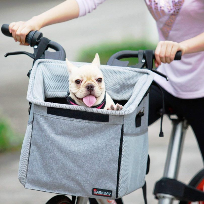 Pet Carrier Bicycle Basket Bag Pet Carrier/Booster Backpack For Dogs
