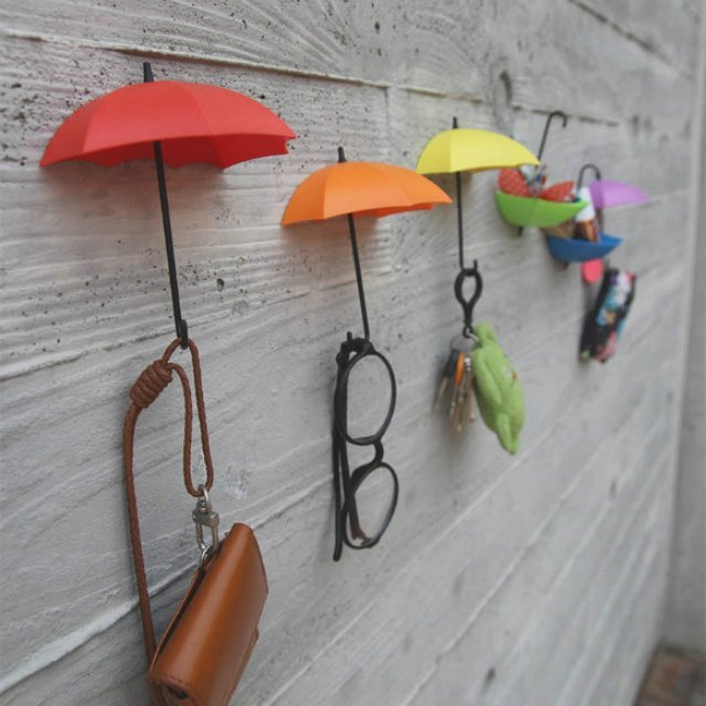 Umbrella Drop Key Hanger