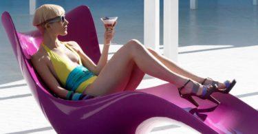 Surf Sun Chaise by Vondom