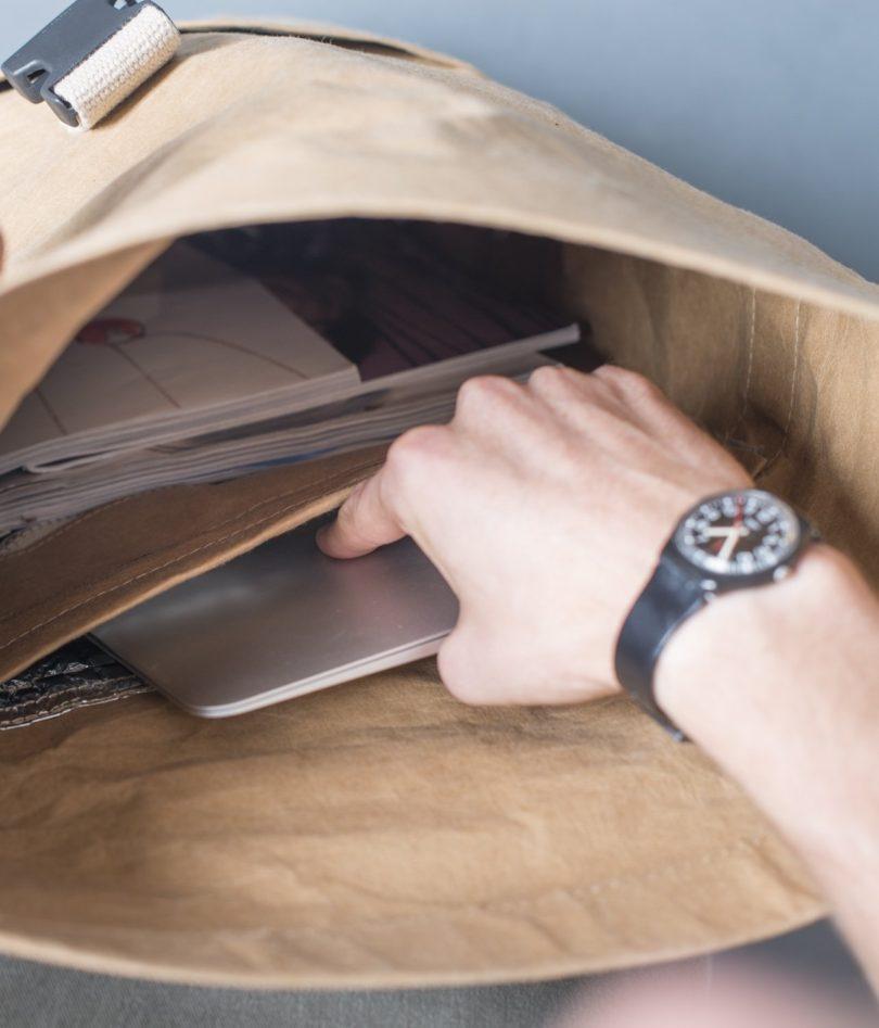 Havana Black Office Messenger Bag