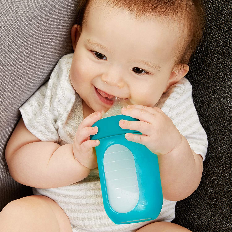 Boon NURSH Silicone Pouch Bottle 8oz 3pk