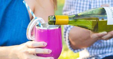 Stemless Wine Glass Tumbler
