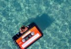 Loteli Mixtape Cassette Tape Pool Float: Large Floats for Adults and Kids
