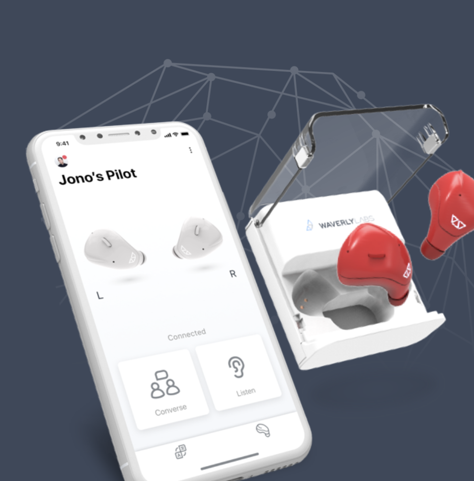 Pilot Smart Earpiece Language Translator by Waverly Labs