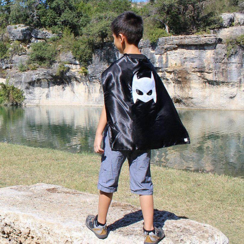 Pow Black Superhero Cape