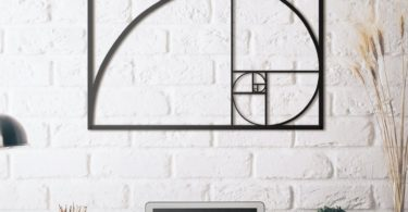 Golden Ratio XL Metal Wall Art