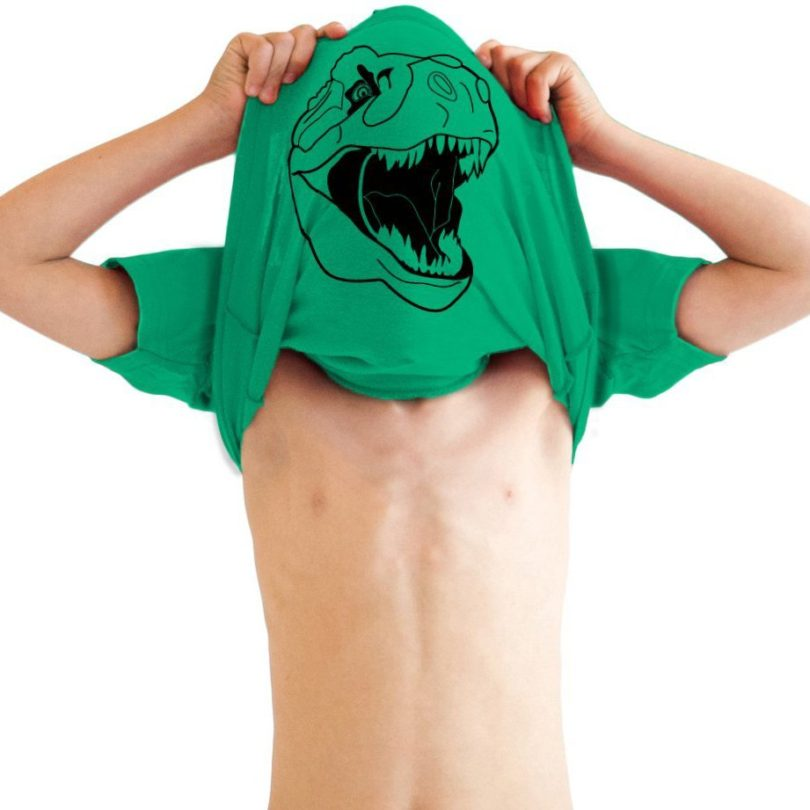 Youth Ask Me About My T-Rex Shirt