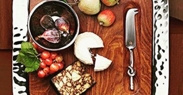 Sierra Serve Tray with Wood Insert & Helxy Cheese Knife